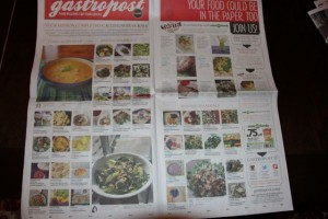 Gastropost - Calgary Herald April 9, 2014