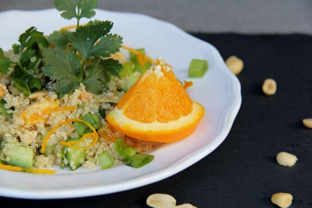 Citrus quinoa salad - easy, healthy and delicious!