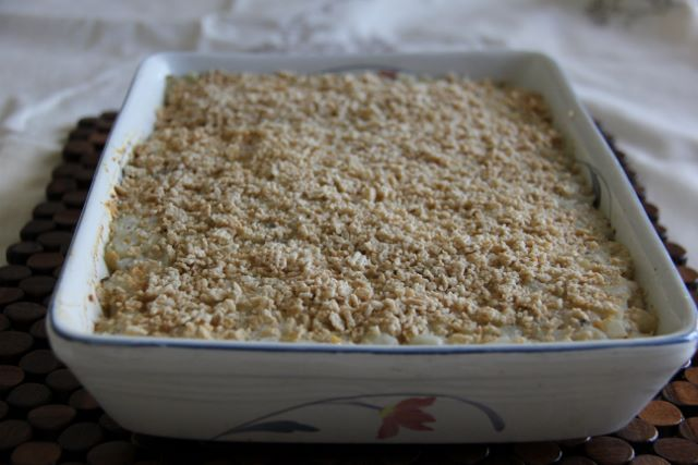 Mean Hash-brown Casserole - a gluten free side perfect for brunch or dinner