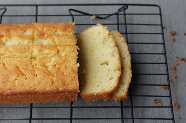 Easy and delicious coconut lemon loaf for dessert or brunch