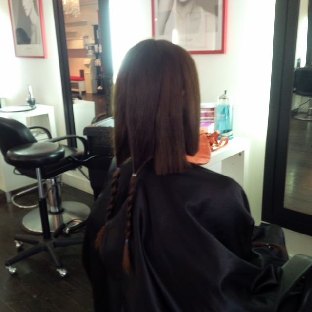 Donating 8 inches of my hair to Pantene Beautiful Lengths