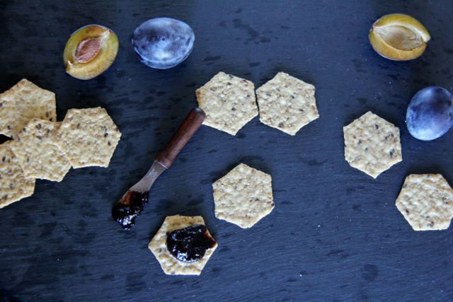 angy and Delicious Prune Plum and Date Balsamic Spread for Crackers