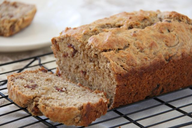 Banana Loaf packed with sweet and nutritious dates