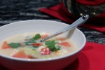Shrimp, Coconut and Ginger Thai Soup