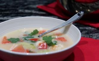 Thai Shrimp and Coconut Soup